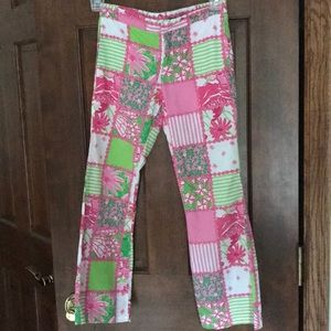 Lilly Pulitzer Bottoms - Lilly Pulitzer patchwork pants